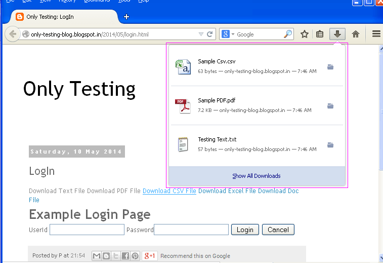 Software testing tutorials and automation: How To Download