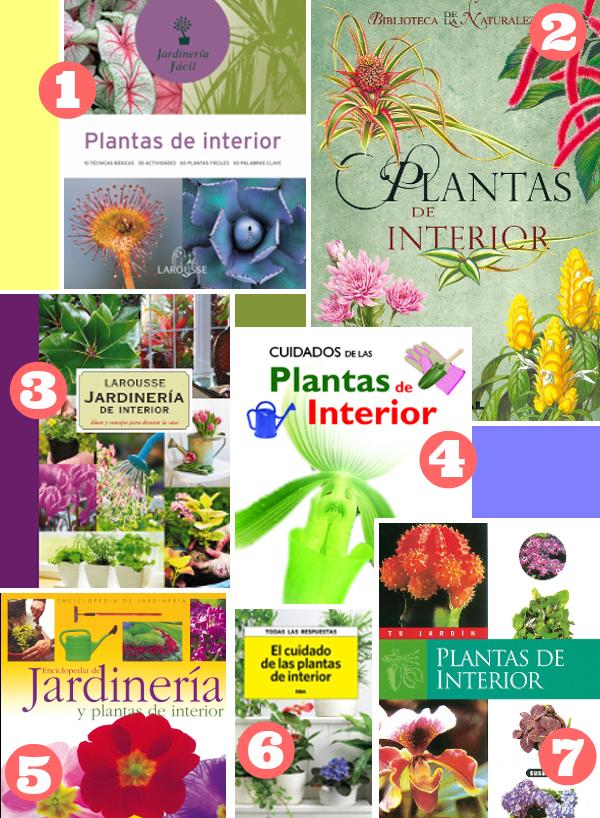 Libros de jardiner a plantas de interior guia de jardin - Libros sobre jardineria ...
