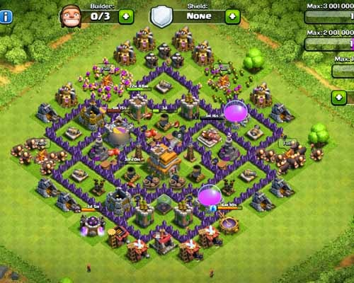 The Best Townhall 7 Trophy Base Okay Let S Check Pict This And Find Your Favourite Clasher Go