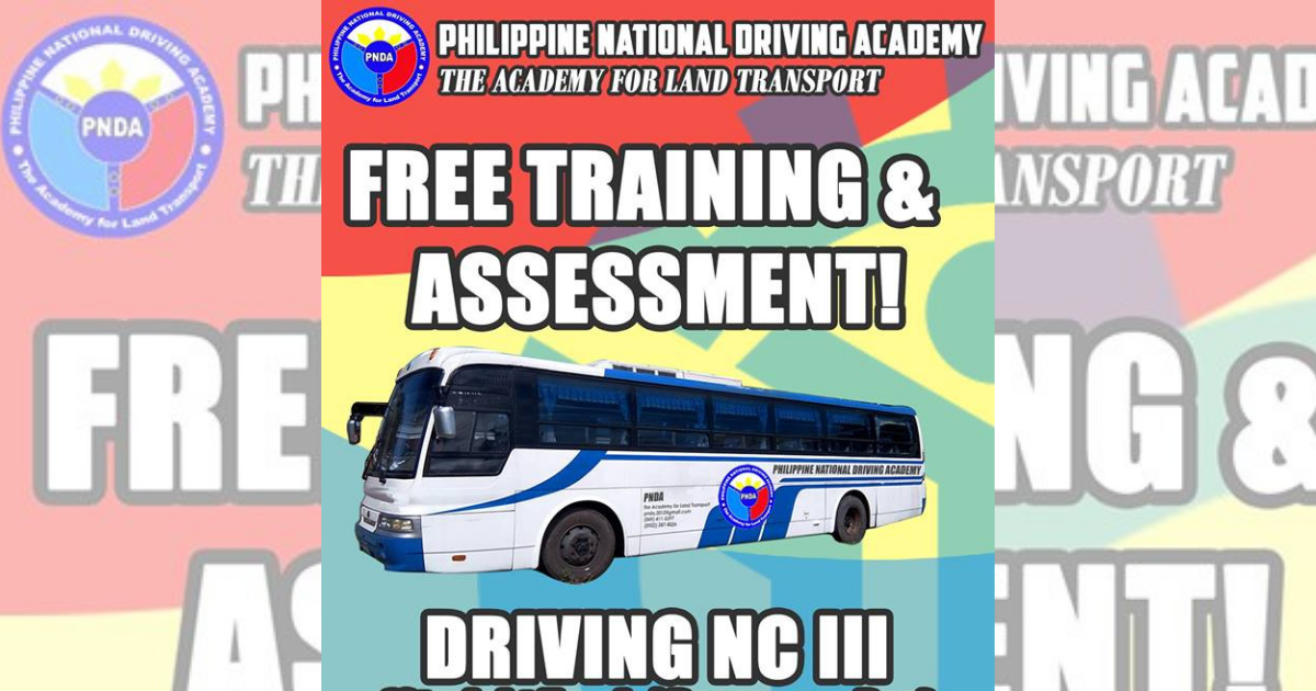 Driving NC III Passenger Bus/Straight Truck (FREE TRAINING & ASSESSMENT) - Enroll Now!