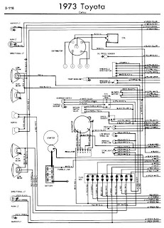 Toyota    Celica    A20 1973    Wiring       Diagrams      Online Manual Sharing