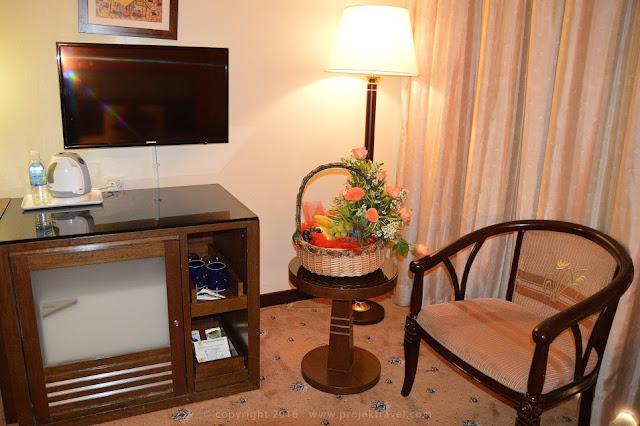 Dekorasi di bilik Superior Room Hotel Klana Resort Seremban