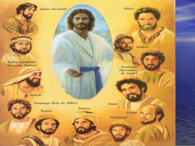 LOS DOCE AMIGOS DE JESUS