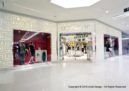 777ae825cb7 Em 2001 a Le Lis Blanc passou também a vender seus produtos a selecionadas  lojas varejistas multimarcas