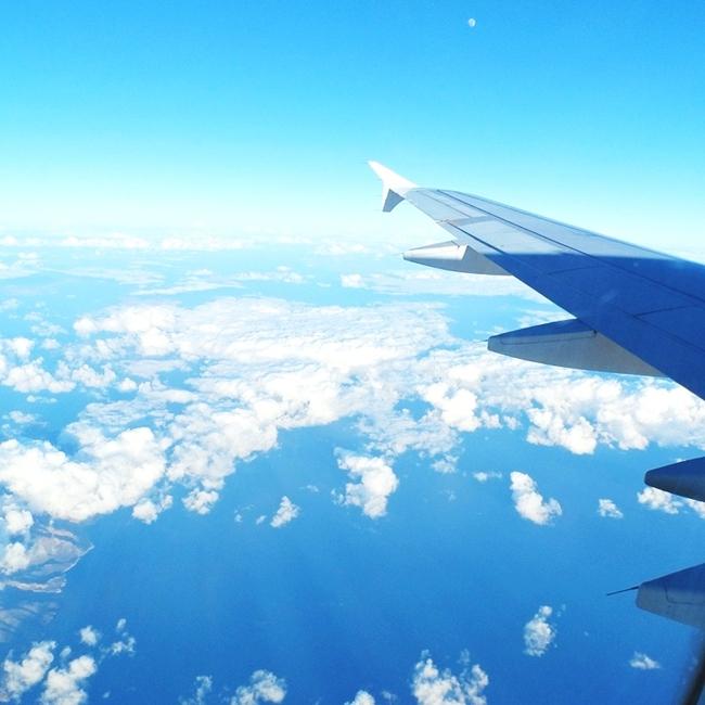 Jelena Zivanovic Instagram @lelazivanovic.Glam fab week.Blue sky above Crete island.Plavo nebo.