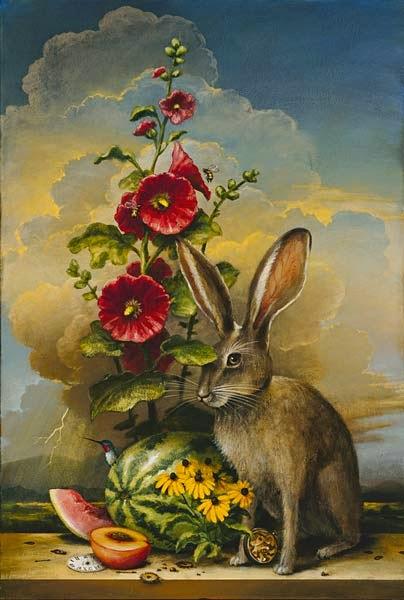 Buquê de Verão - Kevin Sloan e suas pinturas mágicas