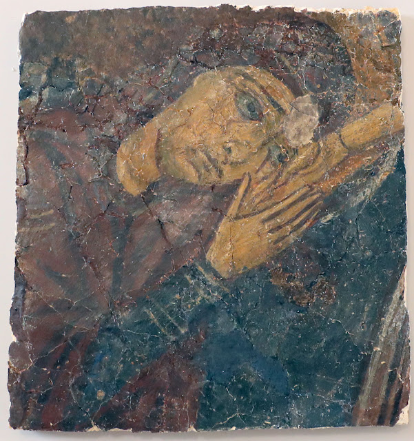Four fragments of looted frescoes repatriated to Cyprus
