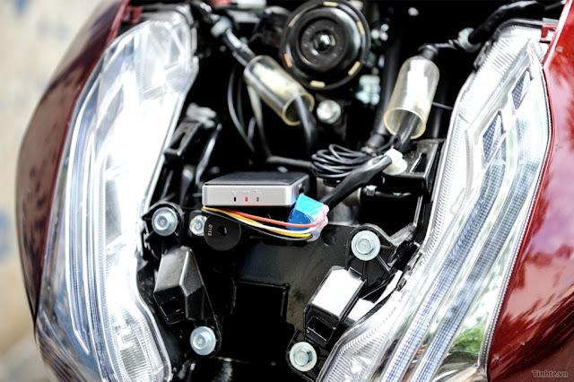 khoa chong trom xe may GPS