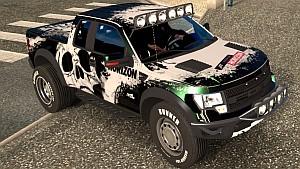 Ford F150 Raptor w/ truck wheels