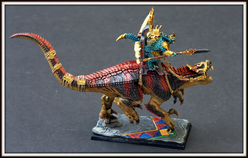Kroq-Gar on Carnosaur Top