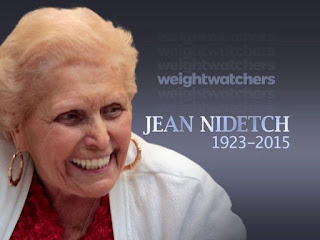 "Jean Nidetch: ""Weight Watchers is not a simple way to lose weight, it's a new way of life"""