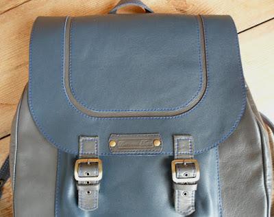 мужской кожаный городской рюкзак