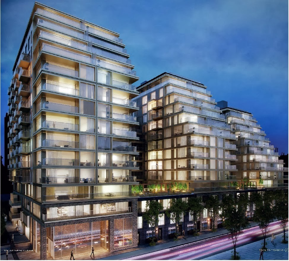 London Apartments: Singapore Property: Royal Mint Gardens. London E1 New
