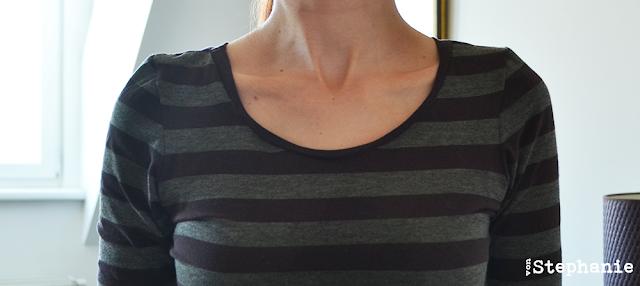 Halsausschnitt Jersey | selbstgenäht | vonStephanie