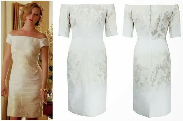 Emily VanCamp in J Mendel - Seen on ''Revenge''