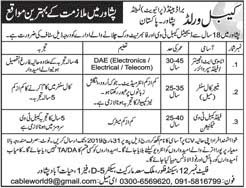 Private Jobs in Peshawar 2019