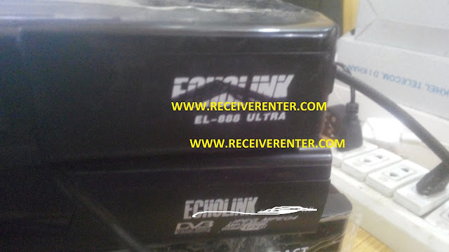 ECHOLINK EL-888 ULTRA MPEG4 RECEIVER BISS KEY OPTION