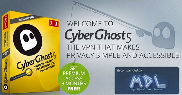 Download CyberGhost 5 Premium Edition Gratis 3 Bulan