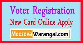 Telangana Voter Registration Online