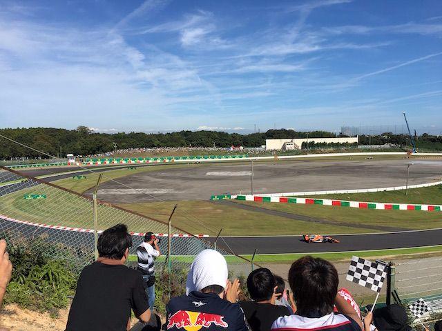 F1日本グランプリ2017 Nエリアから見る決勝レース