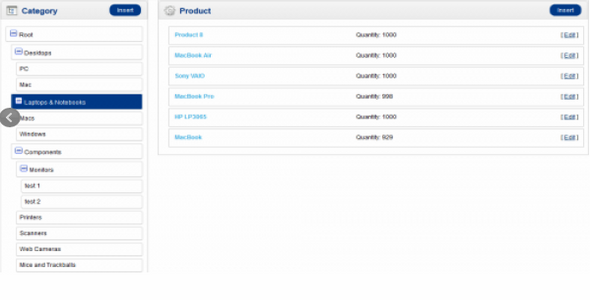 Category Product Manager v1.2.2 For OpenCart