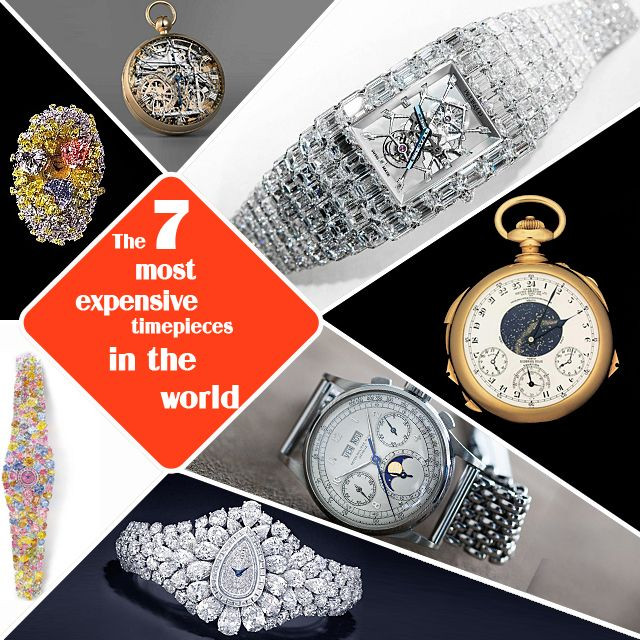 7 Most Expensive Watches In The World Not Lose From Apple Watch
