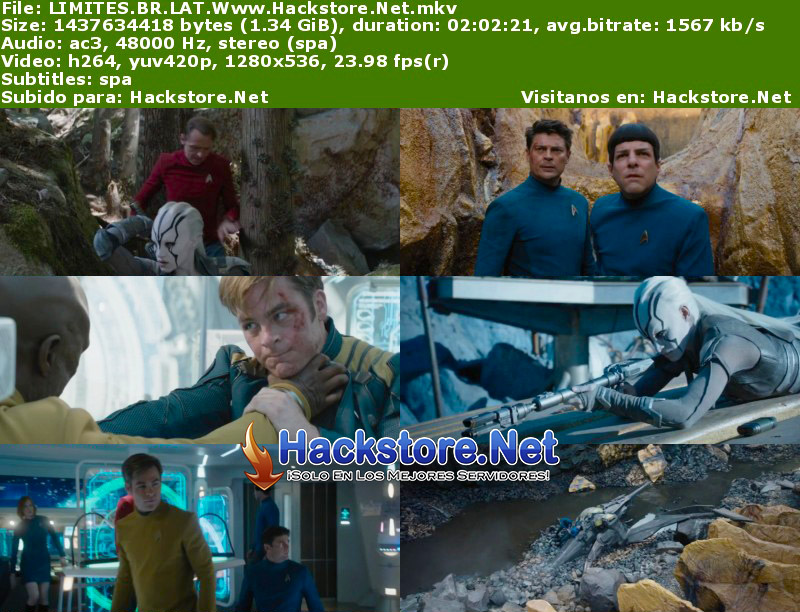 Capturas de Star Trek Sin Límites (2016) Blu-Ray RIP HD Latino