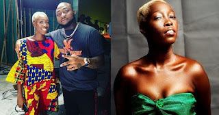 Davido And Adetutu Alabi, Model With Tribal Marks Meet (Photo)