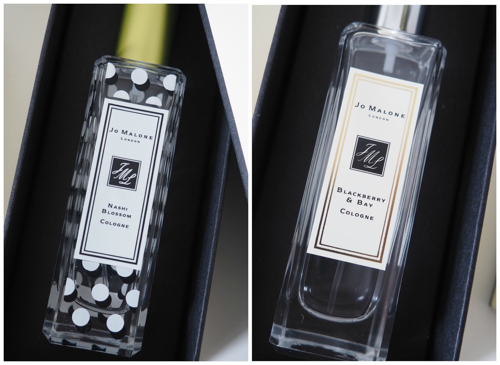 Jo Malone cologne review Nashi blossom blackberry & Bay perfume review