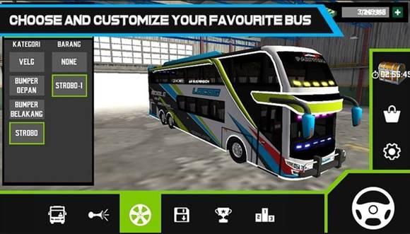 Free Download Mobile Bus Simulator MOD Apk v1.0.2 Unlimited Money Terbaru