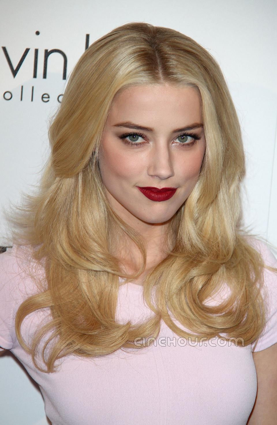 Amber Heard Is The Most Scientifically Beautiful Woman: Black Women Center: Amber Heard At ELLE 18th Annual Women