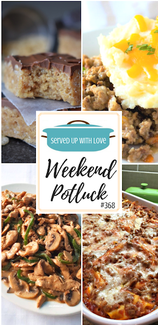 Weekend Potluck featured recipe include Best Ever Scotcheroos, Ultimate Shepherd's Pie, Drunken Chicken Stir-Fry, Quick and Easy Lasagna, and so much more.