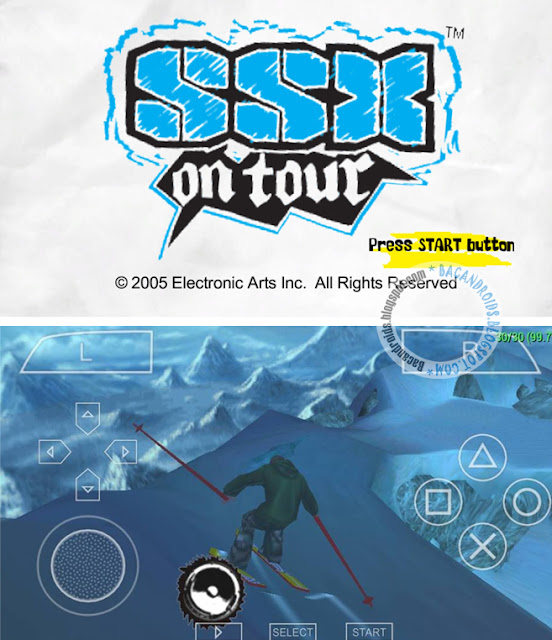 Game SSX On Tour For Emulator PPSSPP Android ISO/CSO HighCompress