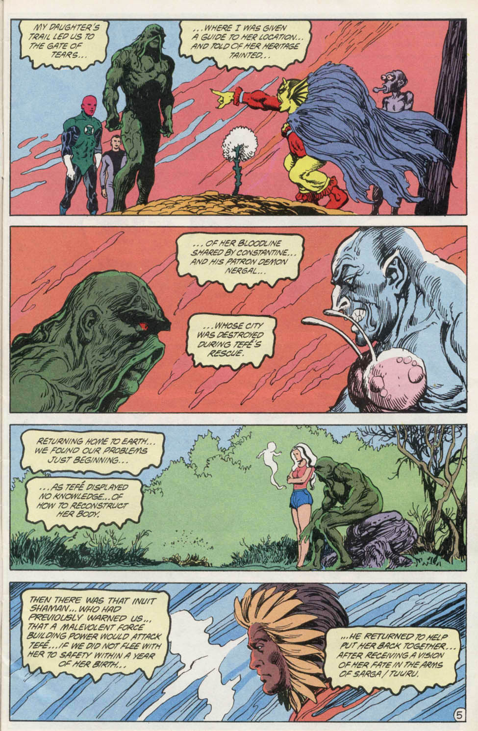 Swamp Thing (1982) Issue #100 #108 - English 6