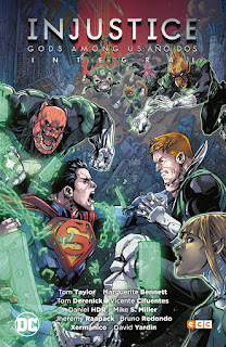 """INJUSTICE: GODS AMONG US"" Año Dos Integral - ECC Ediciones"