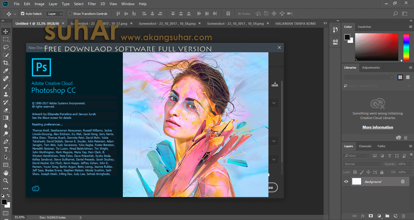Free Download Adobe Photoshop CC 2018 Full Version, Adobe Photoshop CC 2018 Full Serial Number, Adobe Photoshop CC 2018 Product Key