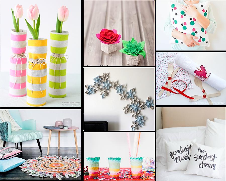 Ideas y manualidades Low Cost para decorar tu casa ... on Room Decor Manualidades Para Decorar Tu Cuarto id=89284