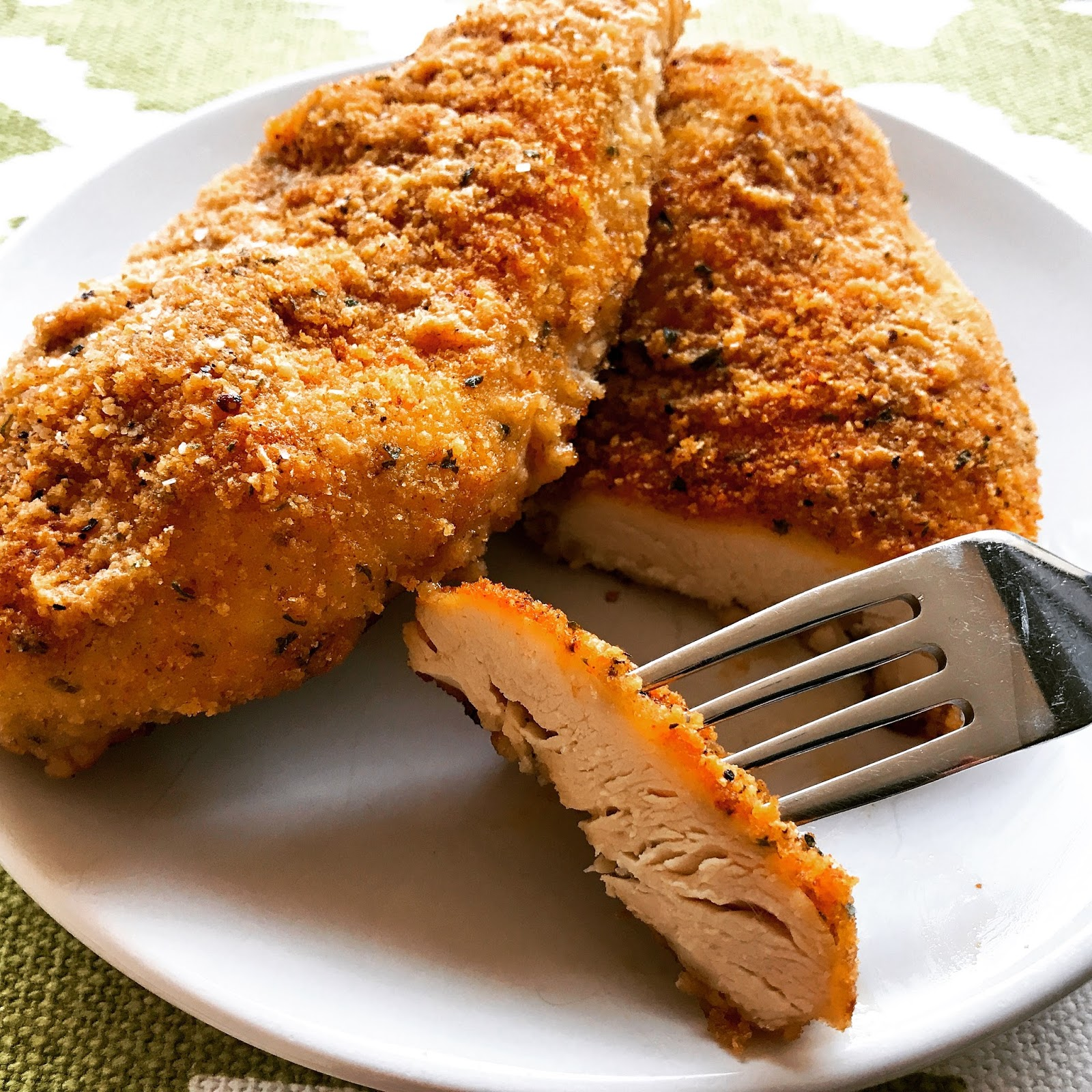 "Baked Honey ""Fried"" Chicken"