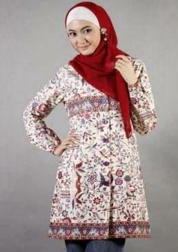 model kemeja muslim wanita
