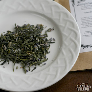 Lavender Sencha Loose Leaf Tea