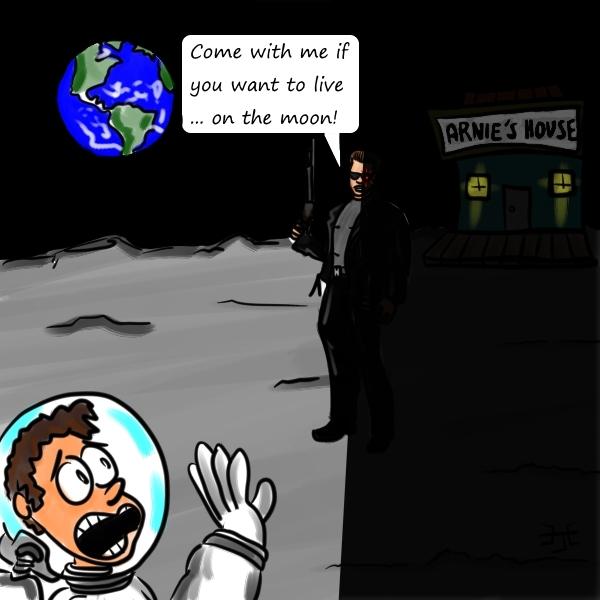 The lunar terminator