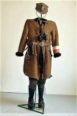 Mundur partyzancki mjr. Józefa Wyrwy
