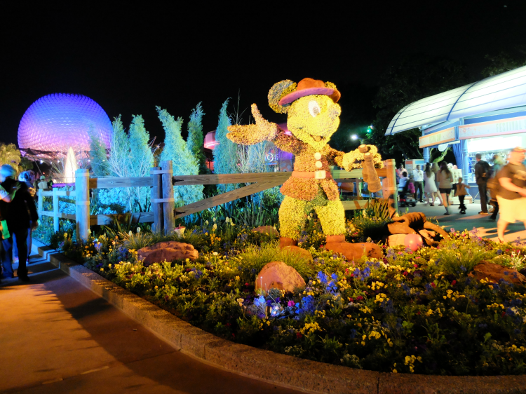 Walt Disney World, Epcot, Flower & Garden Festival, topiary