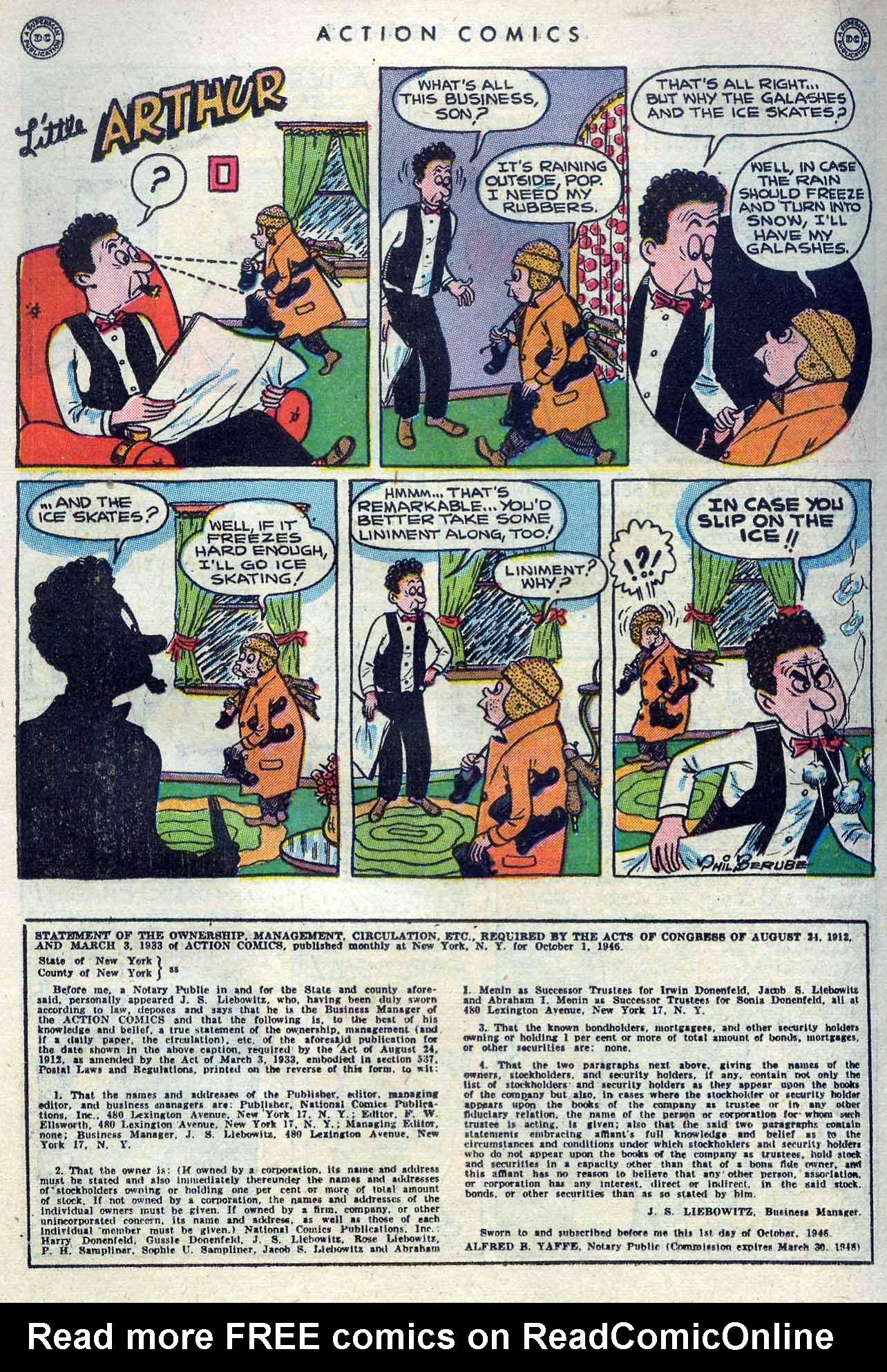 Read online Action Comics (1938) comic -  Issue #105 - 38