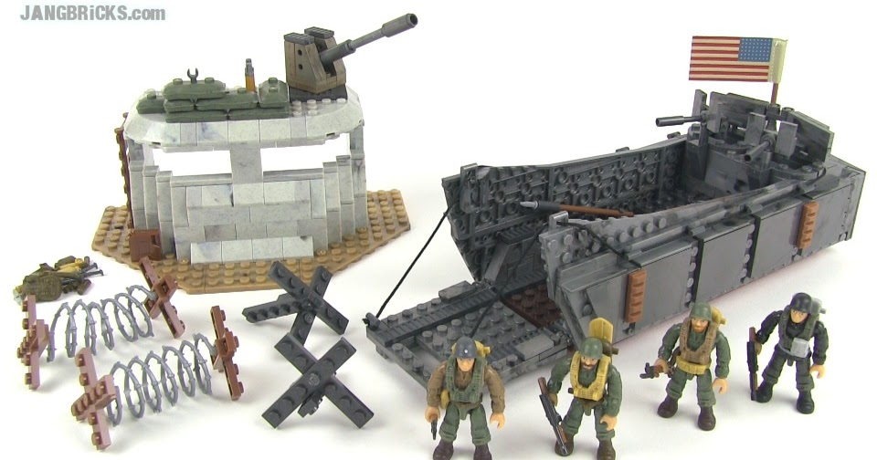 Mega Bloks Call Of Duty 6829 Landing Craft Invasion WWII