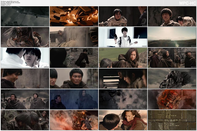 Attack on Titan: Part 1 (2015) Subtitle Indonesia