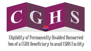 Permanently Disabled CGHS Facility