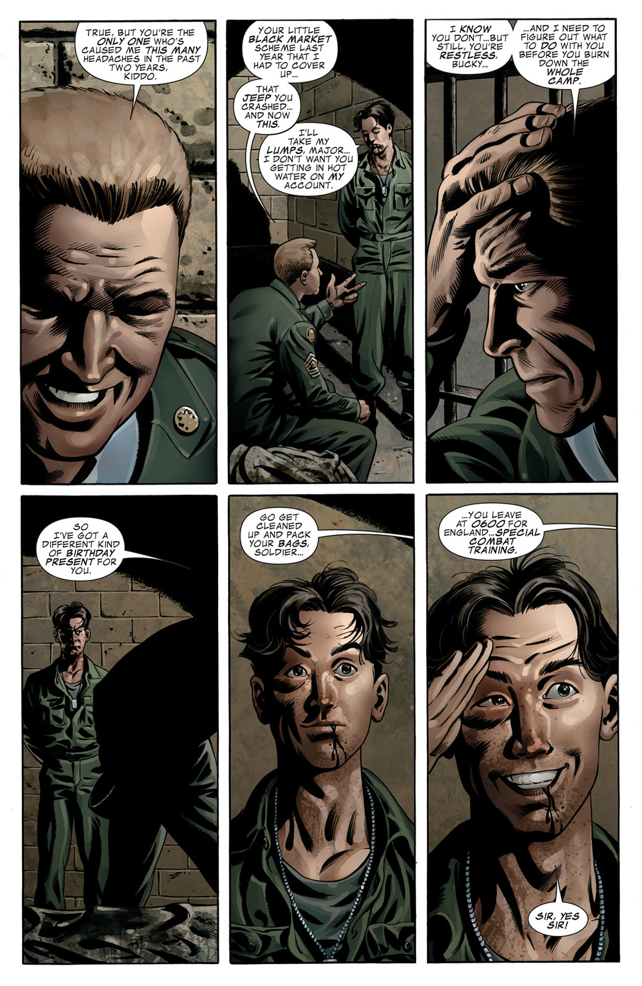 Read online Captain America (2005) comic -  Issue #50 - 8