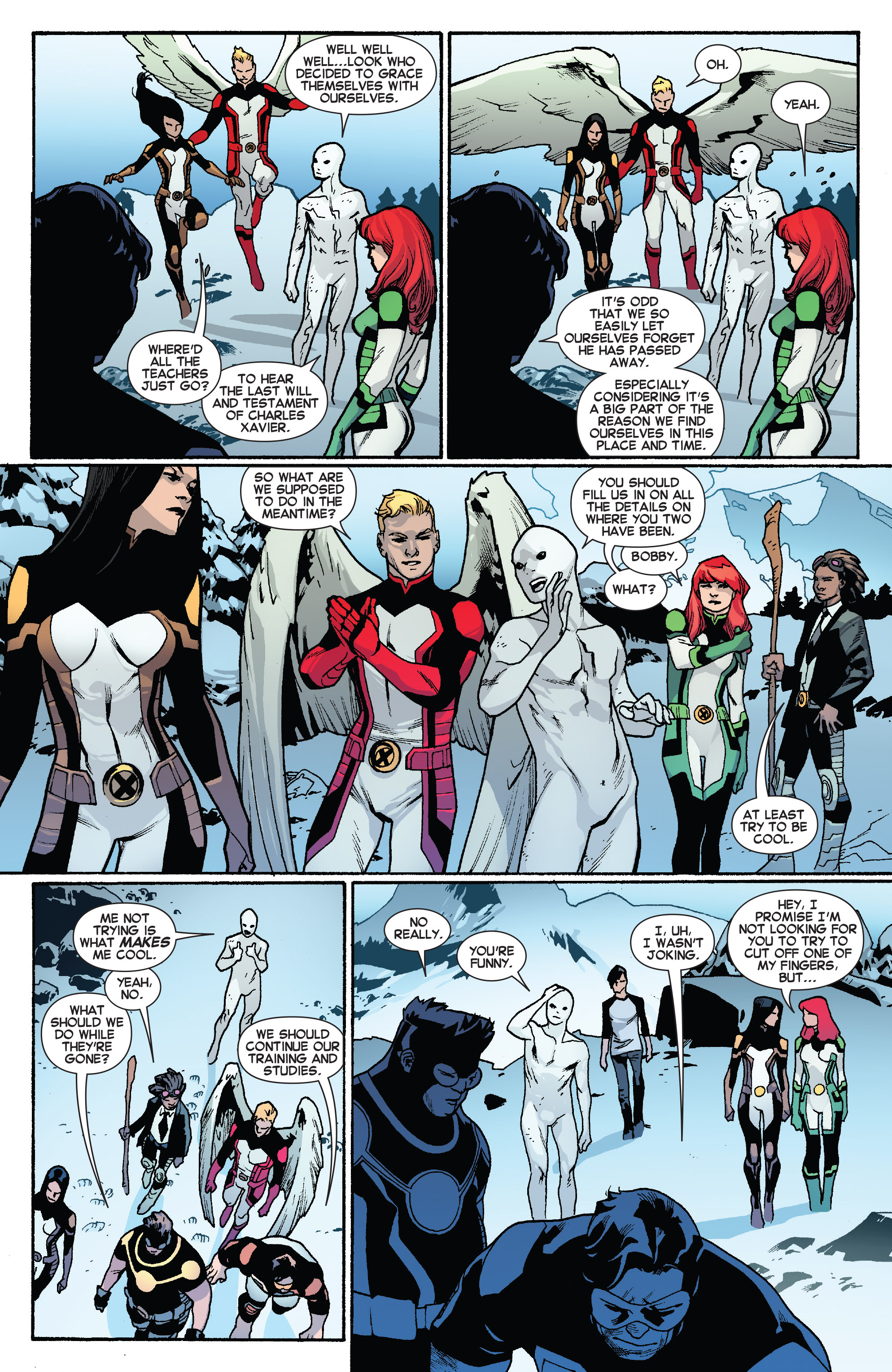 Read online All-New X-Men (2013) comic -  Issue #31 - 7
