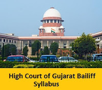 High Court of Gujarat Bailiff Syllabus